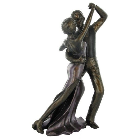 Strictly Ballroom Dancing Couple Bronze Sculpture